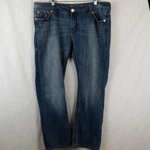 Silver Luxe Bootcut Jean's Womens Sz 20